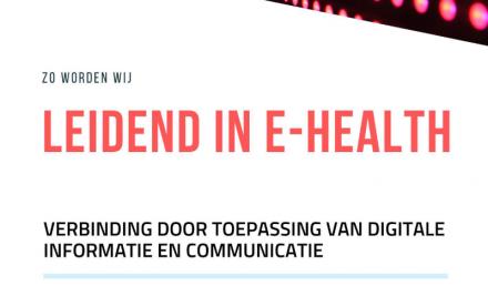 Uitnodiging e-healthmeeting 28 januari 2020 I Tijdens de landelijke e-healthweek
