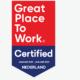 Sleutelnet uitgeroepen tot Great Place To Work!